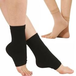 Fotledsstöd Elastiskt bandage Stickning Sport Protector Fotled Su Khaki
