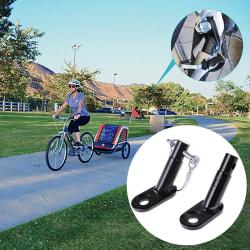 Cykelvagn Cykelkoppling Vinklad armbågsfäste för 2