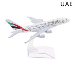 1: 400 flygplan modell Lufthansa UAE Thailand Singapore flygplan UAE