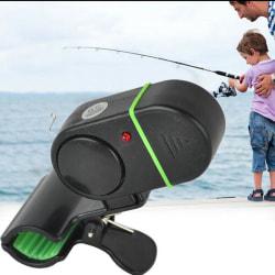 Fiskelarm Elektronisk LED Fish Bite Sound Alarm Bell Klämma på One Size