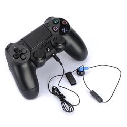 Spelheadset med mikrofon Mono Chat Earbud för PS4-kontroll One Size
