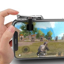 Gaming Trigger Phone Game PUBG Mobile Controller Gamepad för en Black