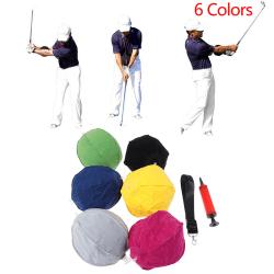 Golf Intelligent Impact Ball Golf Swing Trainer Aid Practice Po