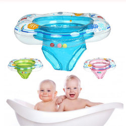Barn baby simning ring uppblåsbara flottör simning ring Dou Pink