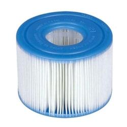 lämplig för intex s1 29011e rent spa vattenreningsfilter elem White