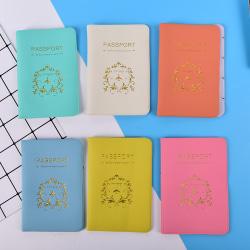 Nytt reseverktyg Enkelt pass ID-korthållare fodral Pr Blue