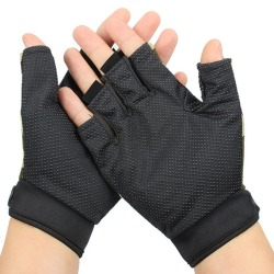 Utomhus Taktiska handskar Cykling Half Finger Militära handskar för Black