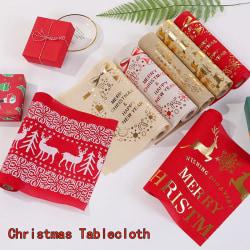 Bärbar elegant julbordsmatta bordsduk julhem 5