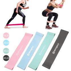 Resistance Loop Bands Strength Fitness Gym Motion Yoga Workou