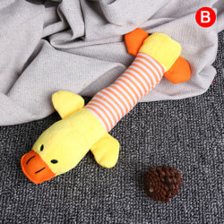 Squeak Chew Dog Cat Toys Ljuddockor Husdjur Rolig plysch Elefant D. B