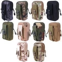 Tactical Tail Pack Military Army Belt Bag Men Hip Bag Black one size