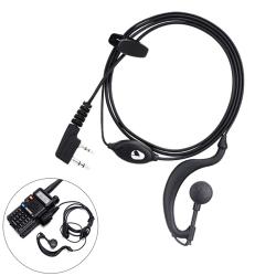 Tvåvägs skinkradio hörlurar för BaoFeng UV5R-serien Wal One Size