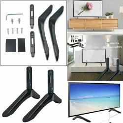 "Universal 32-65 ""TV-monteringsfäste FLAT TV LCD-skärm Bord Stan Black"