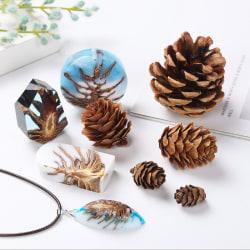Träkottar Photo Props DIY Craft Christmas Pinecone Deco