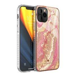 iPhone 11 skal marmor - Glitter Swirl