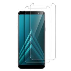 2-Pack Samsung Galaxy A6 2018 - Härdat Glas Skärmskydd