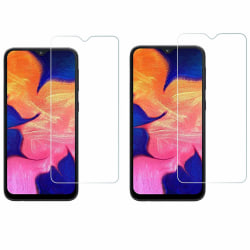 2-Pack Samsung A10 Härdat Glas Skärmskydd