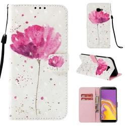 GadgetMe Plånboksfodral Samsung Galaxy J4+ (2018) Lotus blomma