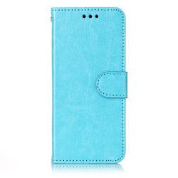 Samsung S8 - Plånboksfodral blå
