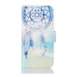 Blå drömfångare iPhone 12/12 Pro Plånboksfodral