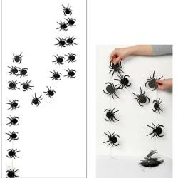 Halloween dekoration spindlar 4 meter lång