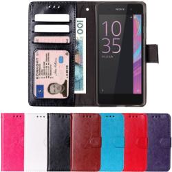 Plånboksfodral Sony Xperia E5 svart