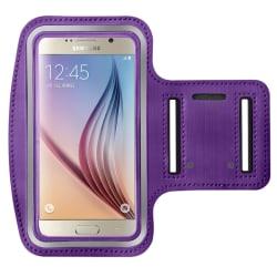 Sportarmband för Samsung Galaxy S6/S7 Bra Kvalitet lila