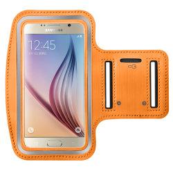 Sportarmband för Samsung Galaxy S6/S7 Bra Kvalitet orange