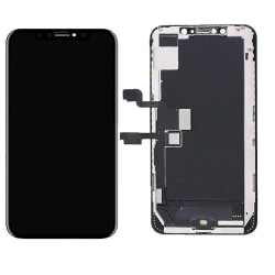 iPhone XS Max Skärm Soft Oled - Svart