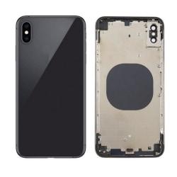 iPhone XS Max Baksida Komplett Med Ram - Svart