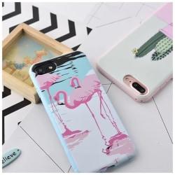 iPhone 7 | Designskal med Kaktus eller flamingo på! Pink flamingo