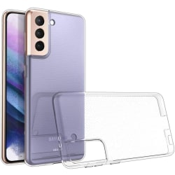 Samsung Galaxy S21   Hårt Mobilskal Transparent