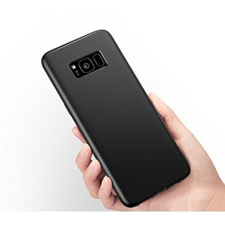 Samsung Galaxy S8 +   Mattsvart Slimmat Skal Svart