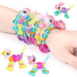 Magiskt armband / magic bracelet - forma och bilda djur (2-pack)