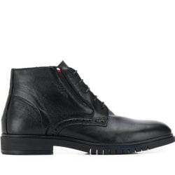 TH Advance Brogue ankelstövlar Black TH Advance Brogue Ankle Boots