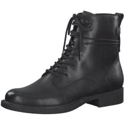 Booties Low Heels Svart Black Booties Low Heels Black