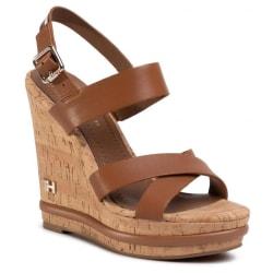 Corporate Wedge Sandaler Brown Corporate Wedge Sandals