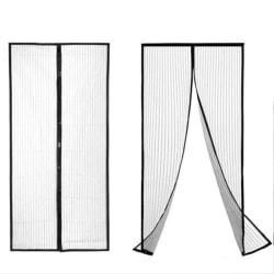 Myggnät för dörr med magnetförslutning