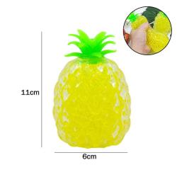 Vuxna Barn Stressavlastning Pressa ananasbollleksak