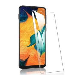2 Pack Samsung Galaxy A10 Härdat glas 3D Skärmskydd HD  Transparent