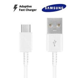 Orignal Samsung Extra Lång 1.5m USB-C Kabel Vit Vit