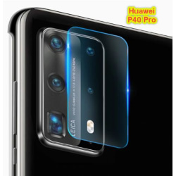 Huawei P40 Pro Bak kamera Skärmskydd  Transparent