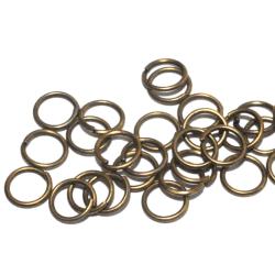 Motringar Bronspläterade Nickelfria Blyfria 6x0,7mm 100-pack Brons