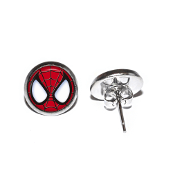 Örhängen Rostfritt Stål Spindelmannen Spiderman Marvel