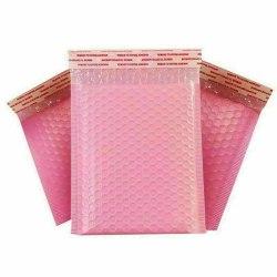 20/50 / 100x Poly Bubble Bag Mailer Plast Polded Kuvert Fraktvä Pink 50pcs 11x15cm
