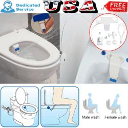 Badrum Bidé toalett Färskvatten Spray Clean Seat Non-Electric K Färg