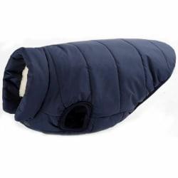 Husdjur hund varm väst kappa kläder jacka liten medium stor hund Marin Xl