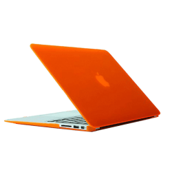 Skal för Macbook Air 13.3-tum (A1369 / A1466) - Orange Orange