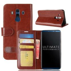 Plånboksfodral för Huawei Mate 10 Pro Brun