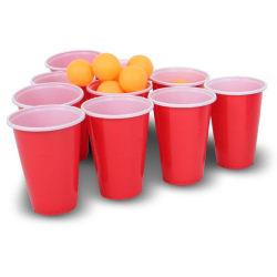 Beer Pong Pro (ölpingis) 24 muggar & 24 bollar